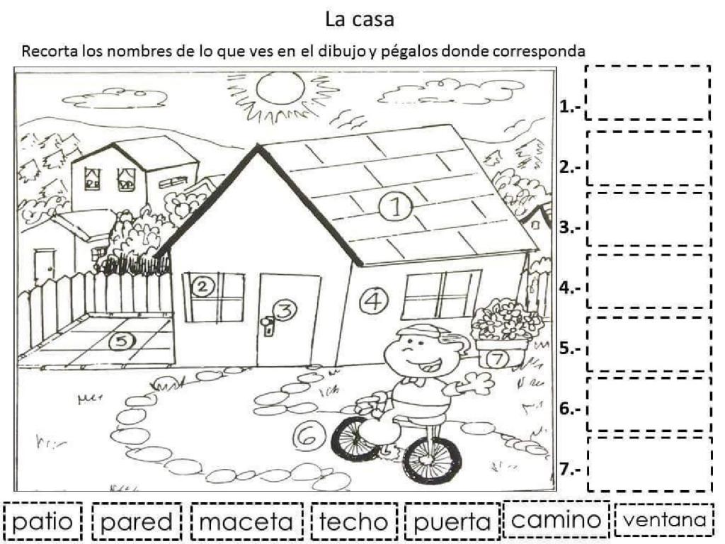 La casa 1 - Problemas con lectoescritura