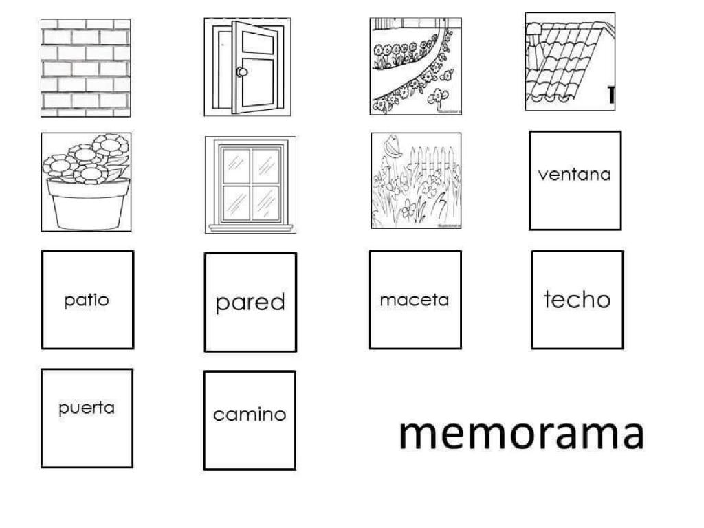 Memorama - Problemas con lectoescritura