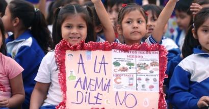 A la anemia dile no Perú