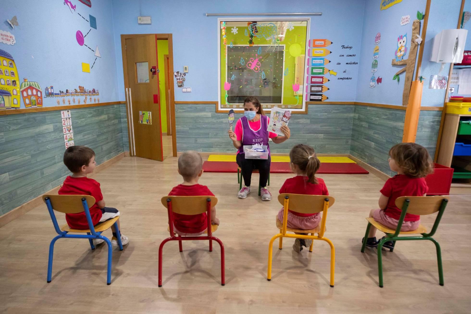 educación inicial en covid